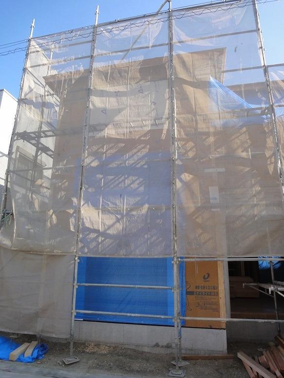 グロワールくずは南の構造用合板外側の画像