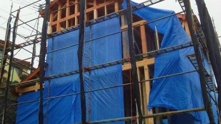 グランステージくずは 棟上げの写真