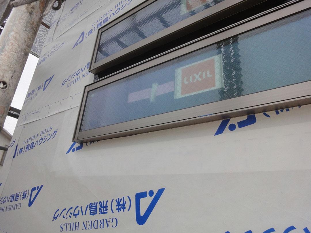 透湿防水シートは、雨水の侵入から家を守る大事な物です。