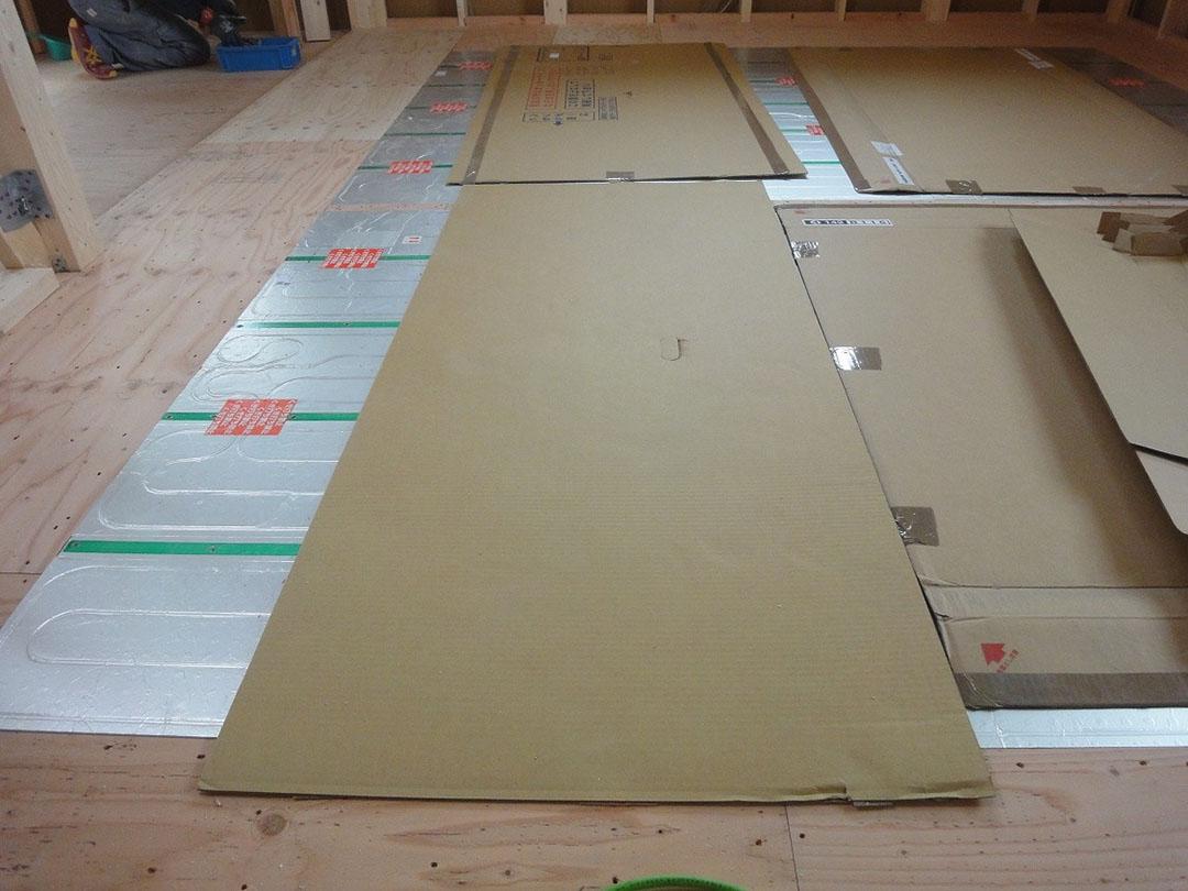 グランステージくずは 床暖房の写真