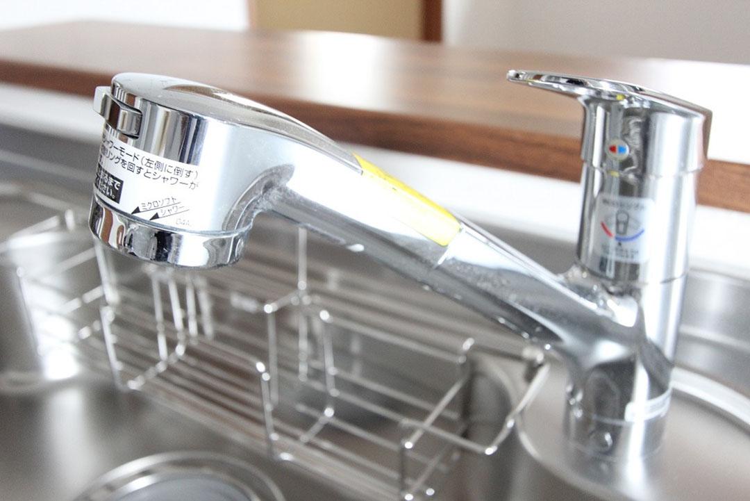 グランステージくずは 高性能な洗浄カートリッジ内臓の浄水器付き水栓の写真