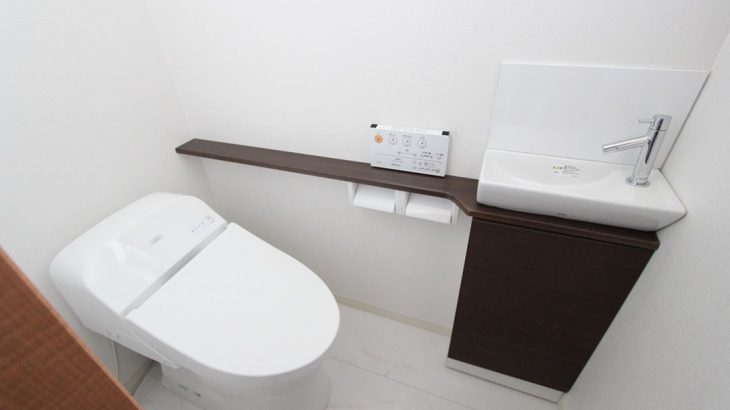 グランステージくずは TOTO製トイレの写真