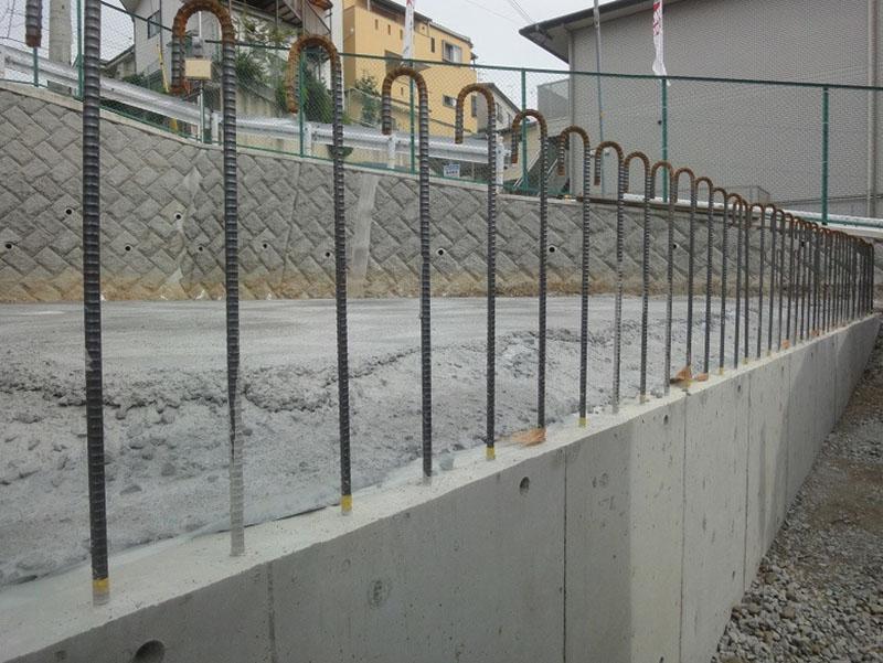 グランステージくずは 基礎工事の写真2
