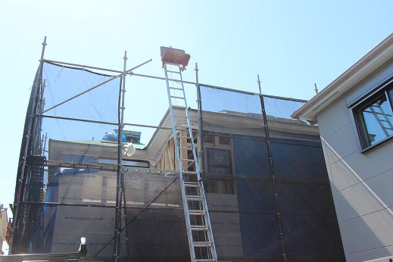グランヒルズくずは 屋根の雨漏り対策の写真