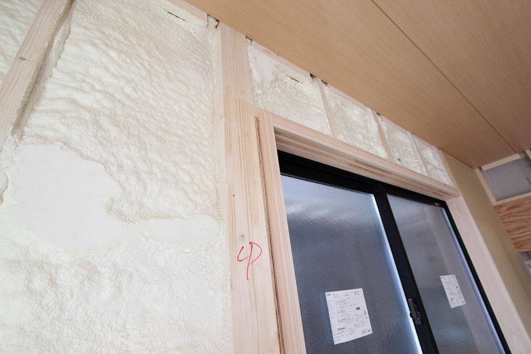 グランヒルズくずは モデルハウスの建築進捗状況の写真1