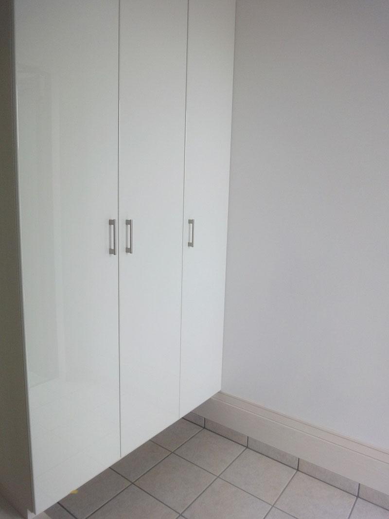 グランヒルズくずは モデルハウス玄関の写真