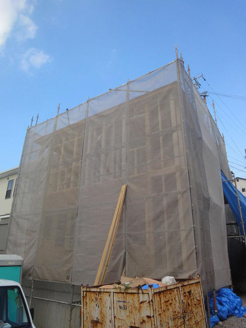 グランステージくずは 工事の進捗状況の写真