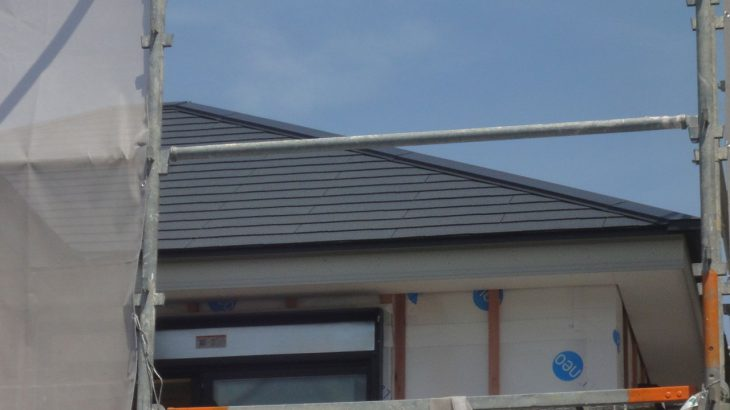 グランステージくずはⅢ 屋根の工事の写真