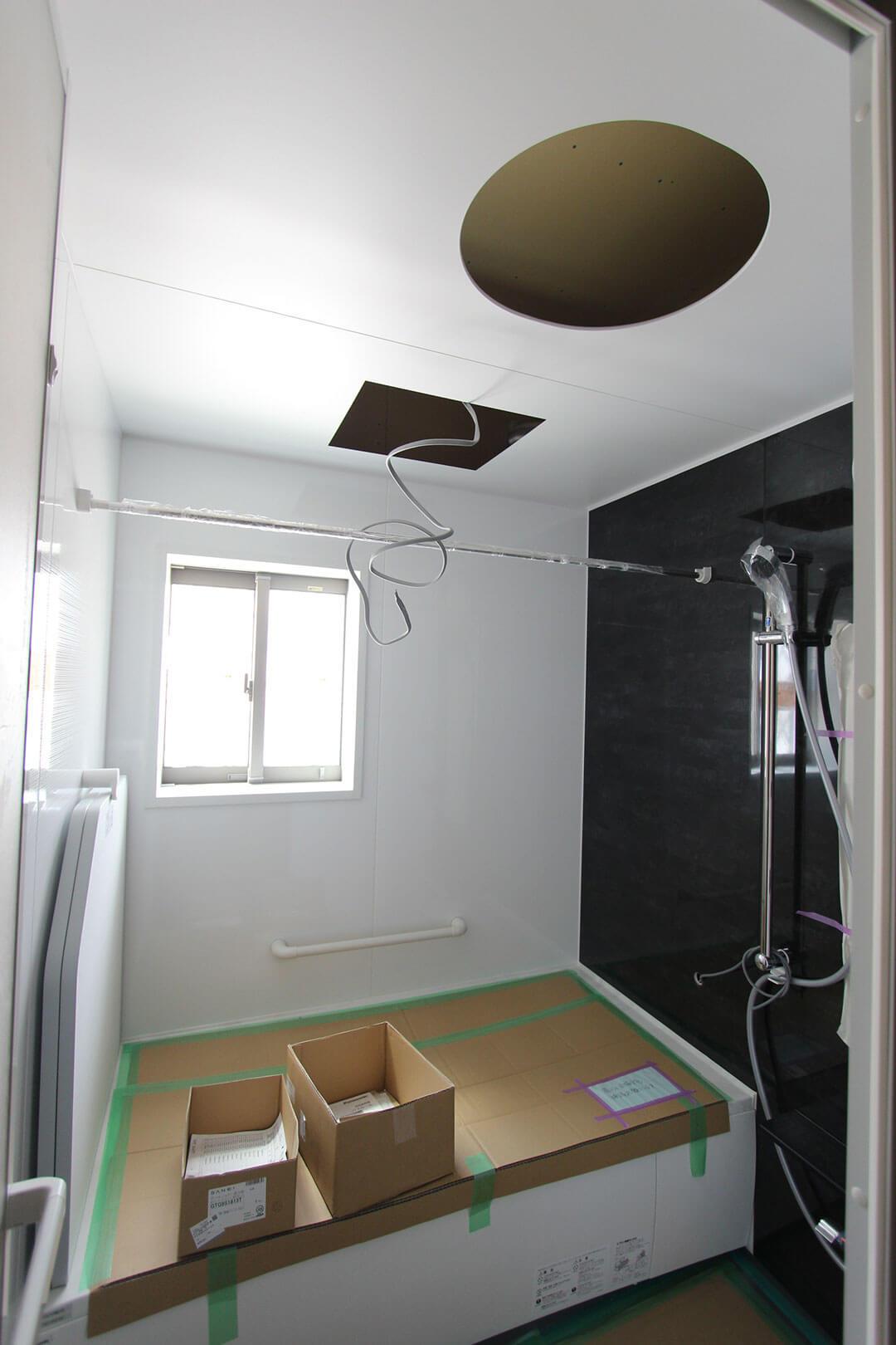 グランステージくずはⅢ 浴室の写真