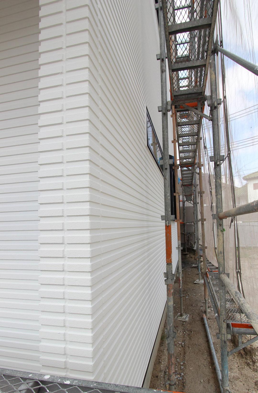 アスカーサ楠葉野田その3 外壁材「へーベルパワーボード」の写真