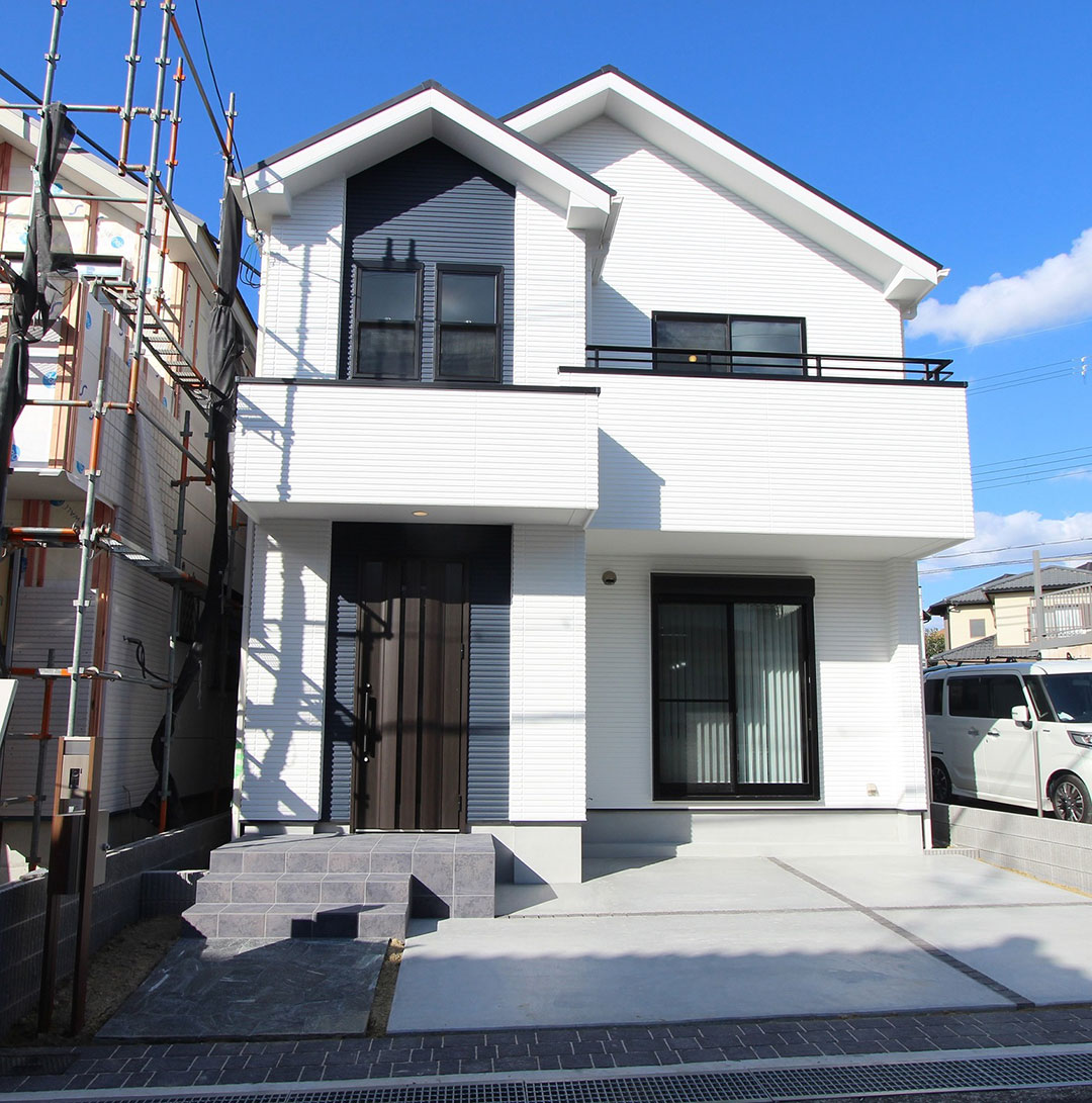 アスカーサ楠葉野田Ⅰ モデルハウスがいよいよ完成